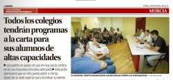 Charla altas capacidades intelectuales Murcia