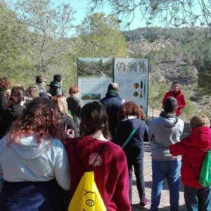 Visita al yacimiento arqueológico de La Bastida en Totana. 2018